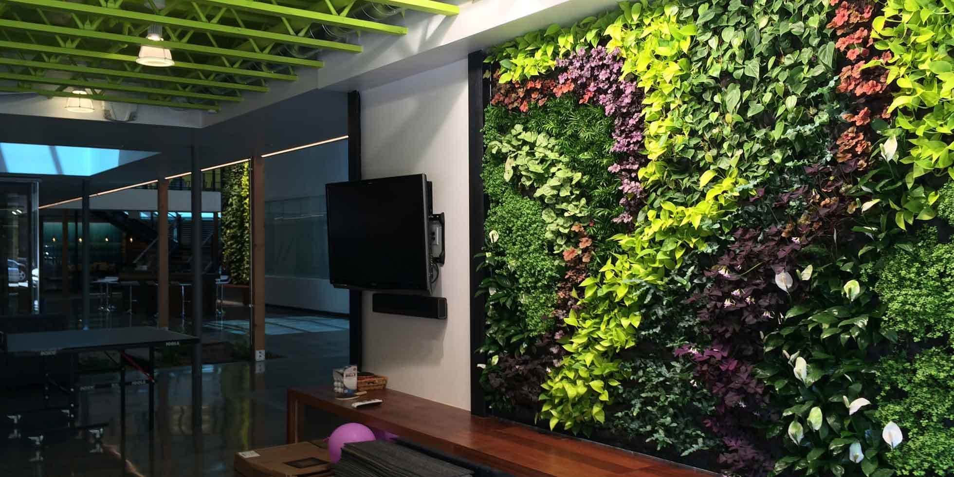 DPR Construction Living Wall by Habitat Horticulture - View 2