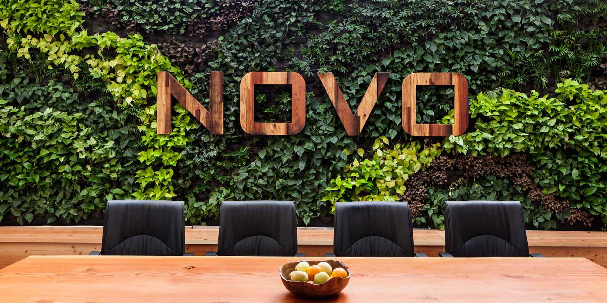 Novo Construction HQ Living Wall by Habitat Horticulture - View 2