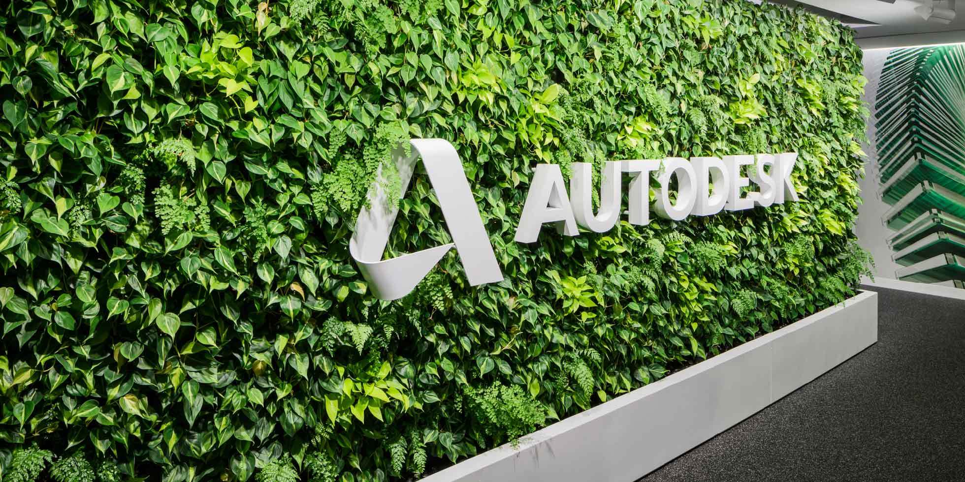 Autodesk Living Wall by Habitat Horticulture - View 1