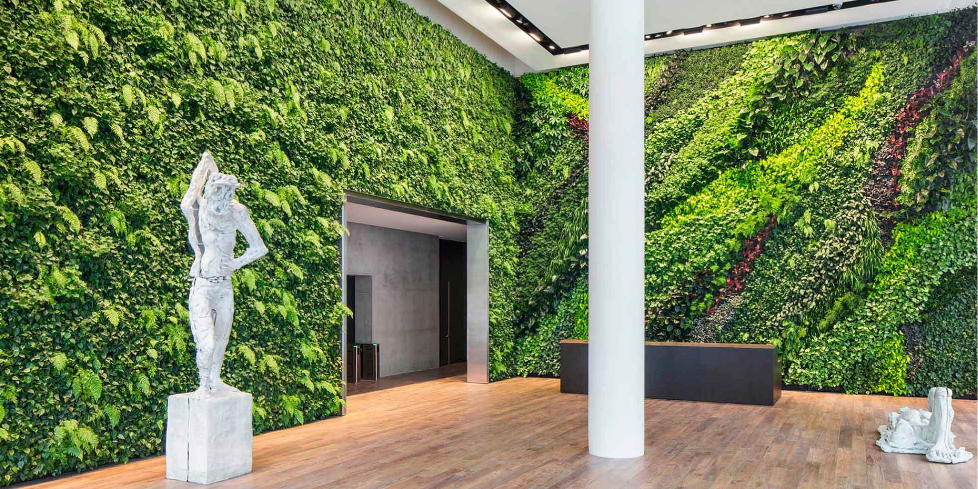 Foundry Square III Living Wall by Habitat Horticulture - View 1