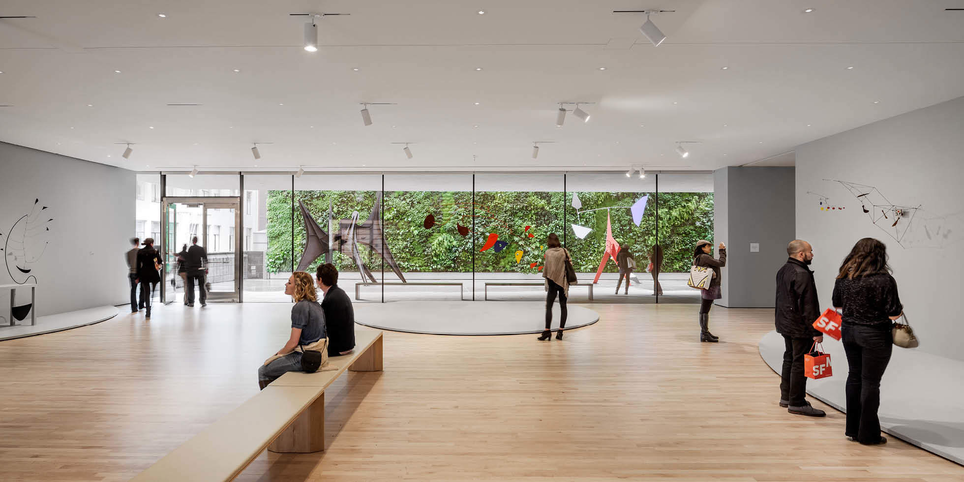 SFMOMA Living Wall by Habitat Horticulture - View 3