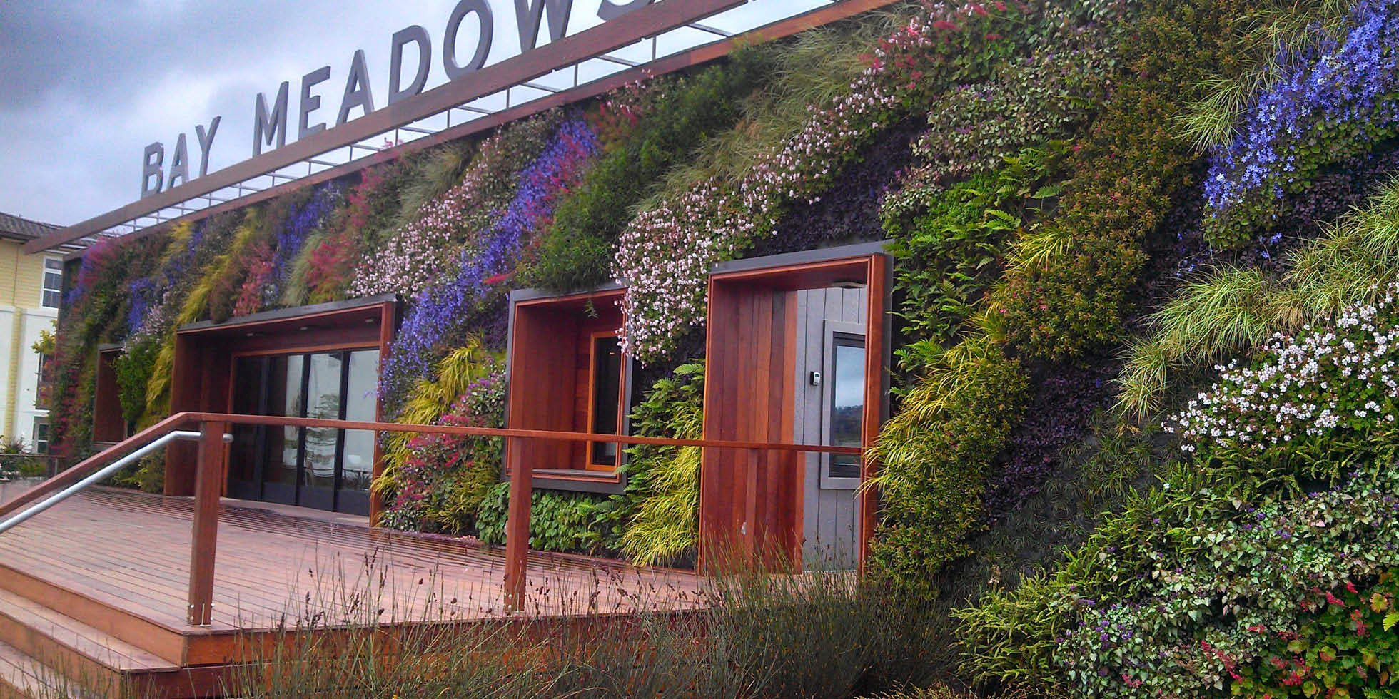 Bay Meadows Welcome Center Living Wall by Habitat Horticulture - View 7