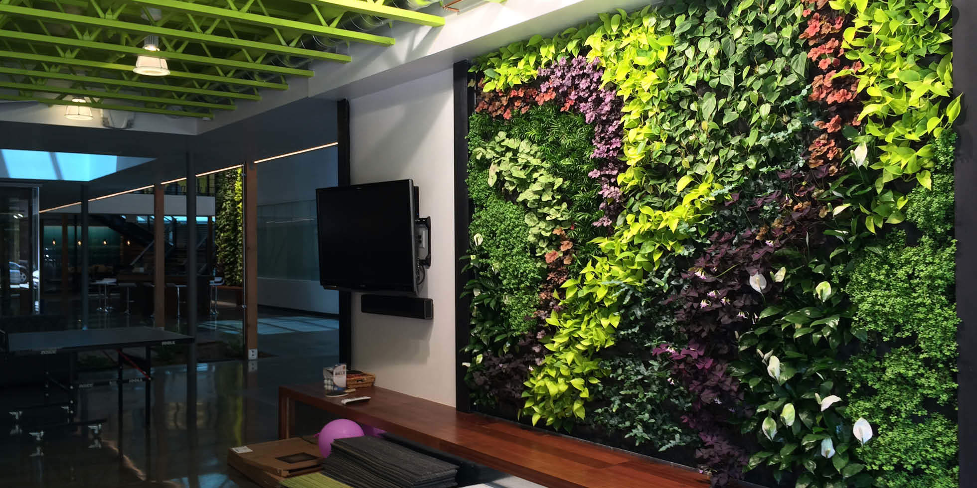 DPR Construction Living Wall by Habitat Horticulture - View 4