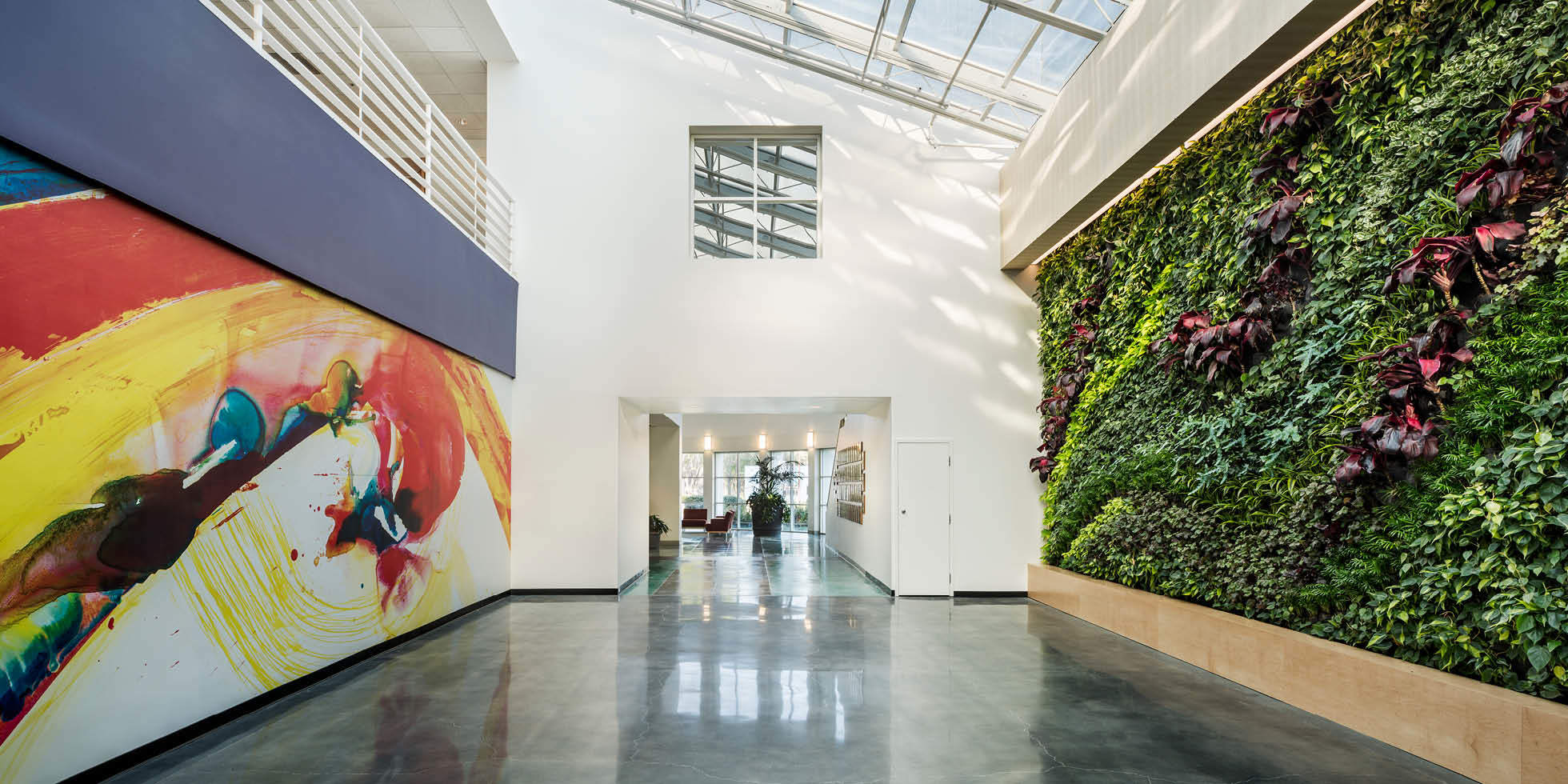 BD Biosciences Living Wall by Habitat Horticulture - View 1
