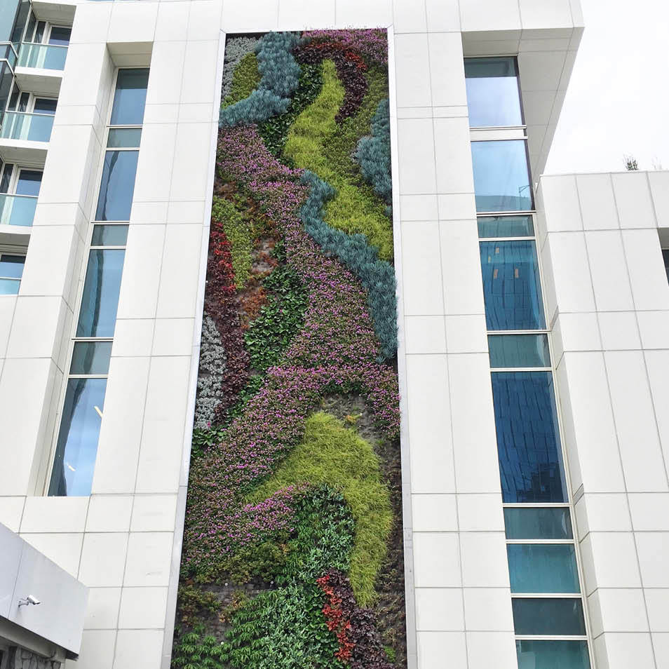 45 Lansing Living Wall by Habitat Horticulture - View 7