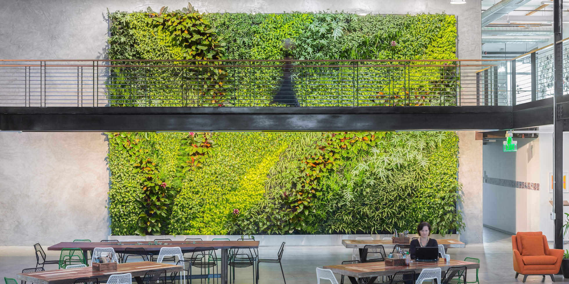 Clover HQ Living Wall by Habitat Horticulture - View 2