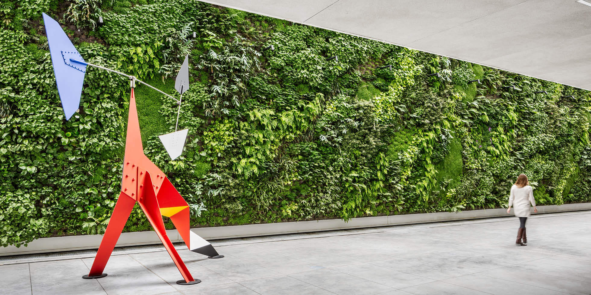 SFMOMA Living Wall by Habitat Horticulture - View 2