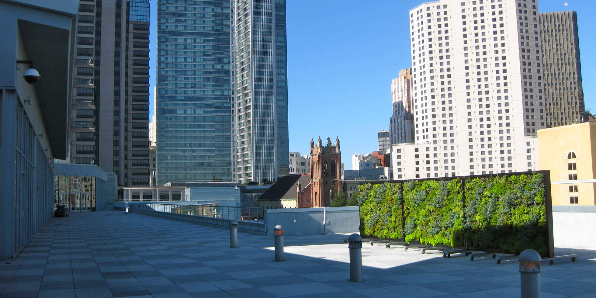 Metreon City View Living Wall by Habitat Horticulture - View 3