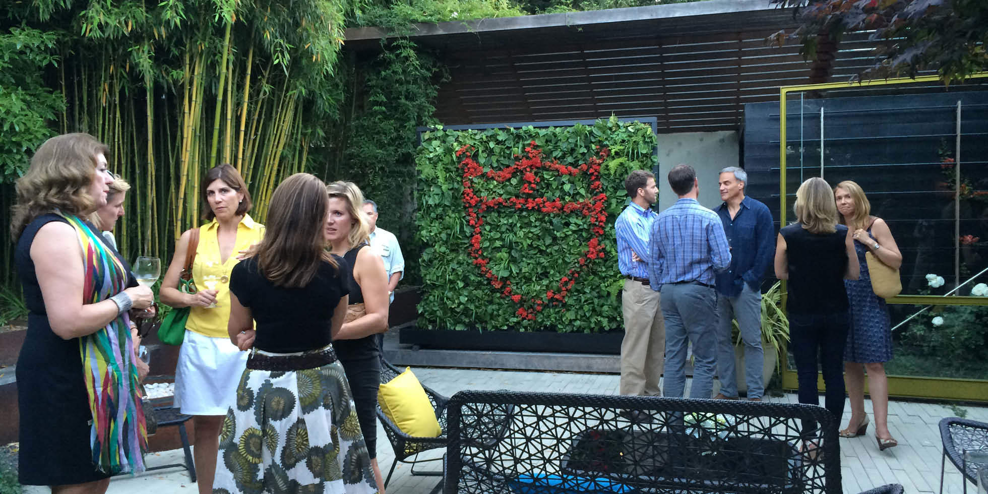 Dwell and Tudor Event Living Wall by Habitat Horticulture - View 1