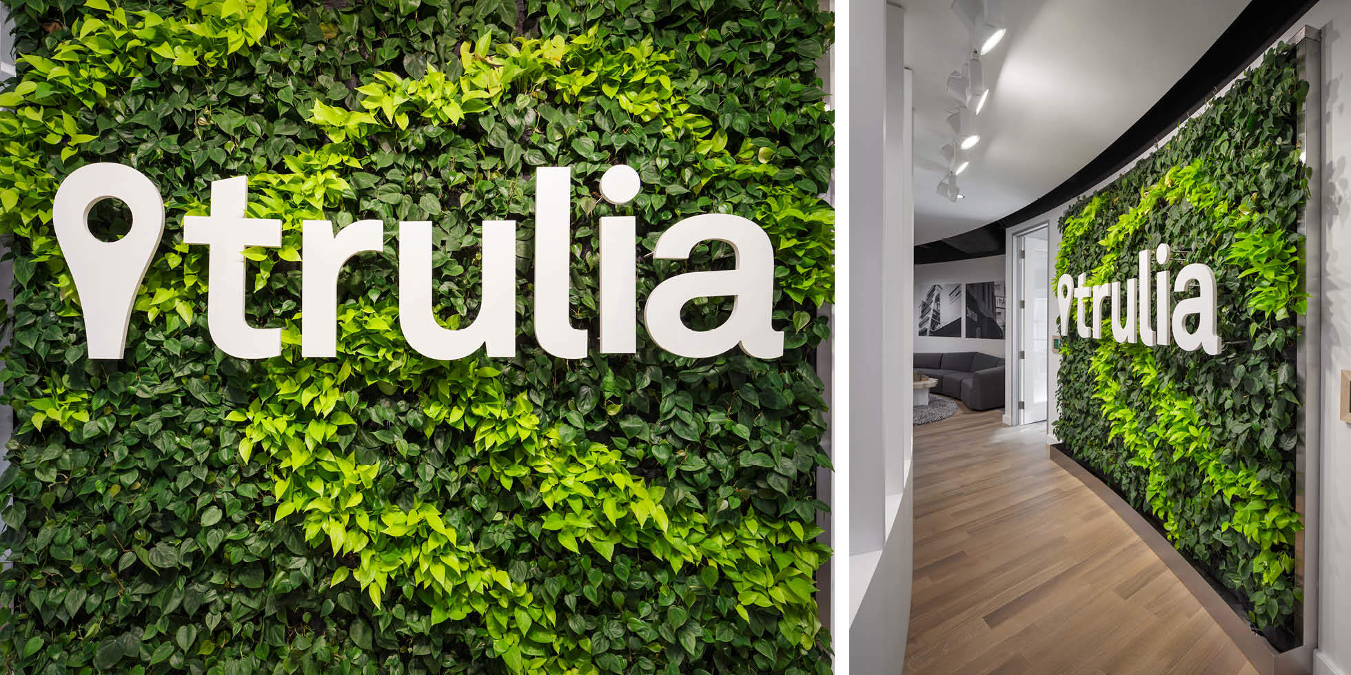 Trulia Living Wall by Habitat Horticulture - View 2