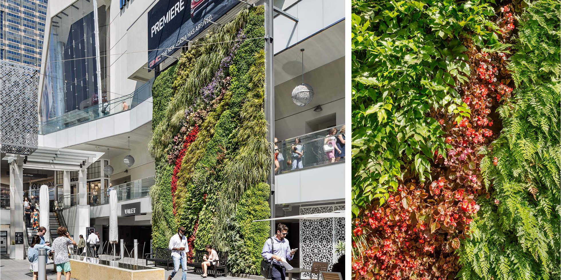 Westfield Century City Living Wall by Habitat Horticulture - View 7