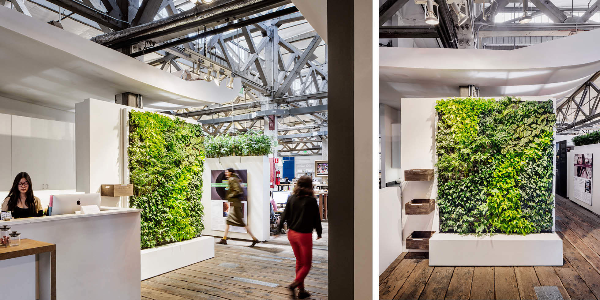 IDEO Living Wall by Habitat Horticulture - View 1