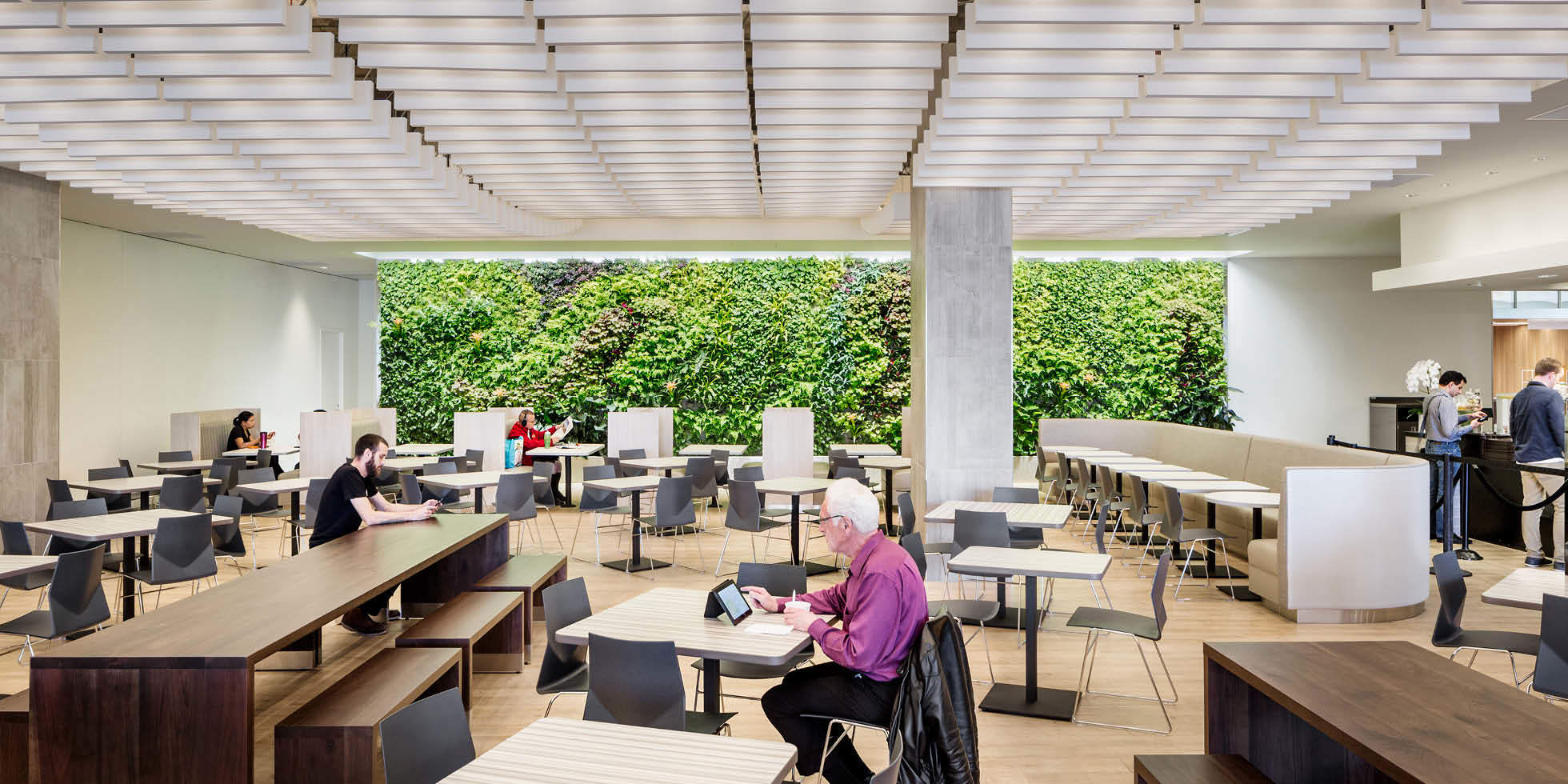 One Market Food Court Living Wall by Habitat Horticulture - View 1
