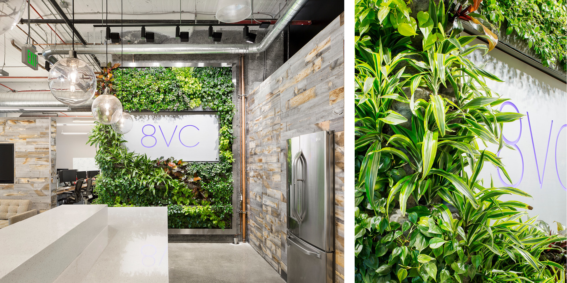 8VC Living Wall by Habitat Horticulture - View 2