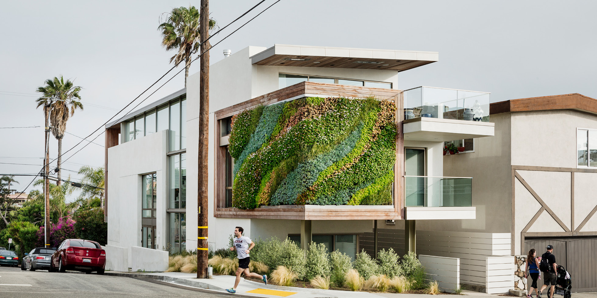 1111 Highview Living Wall by Habitat Horticulture - View 1