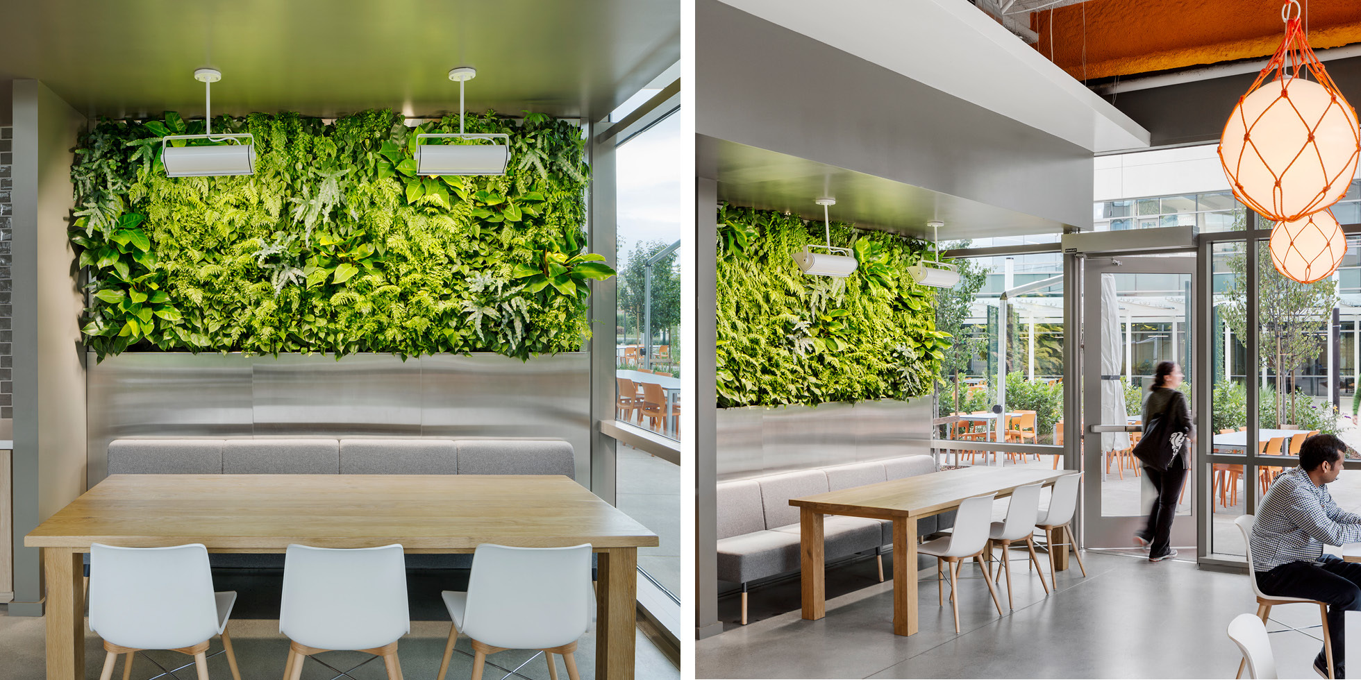 Palo Alto Networks Living Wall by Habitat Horticulture - View 2