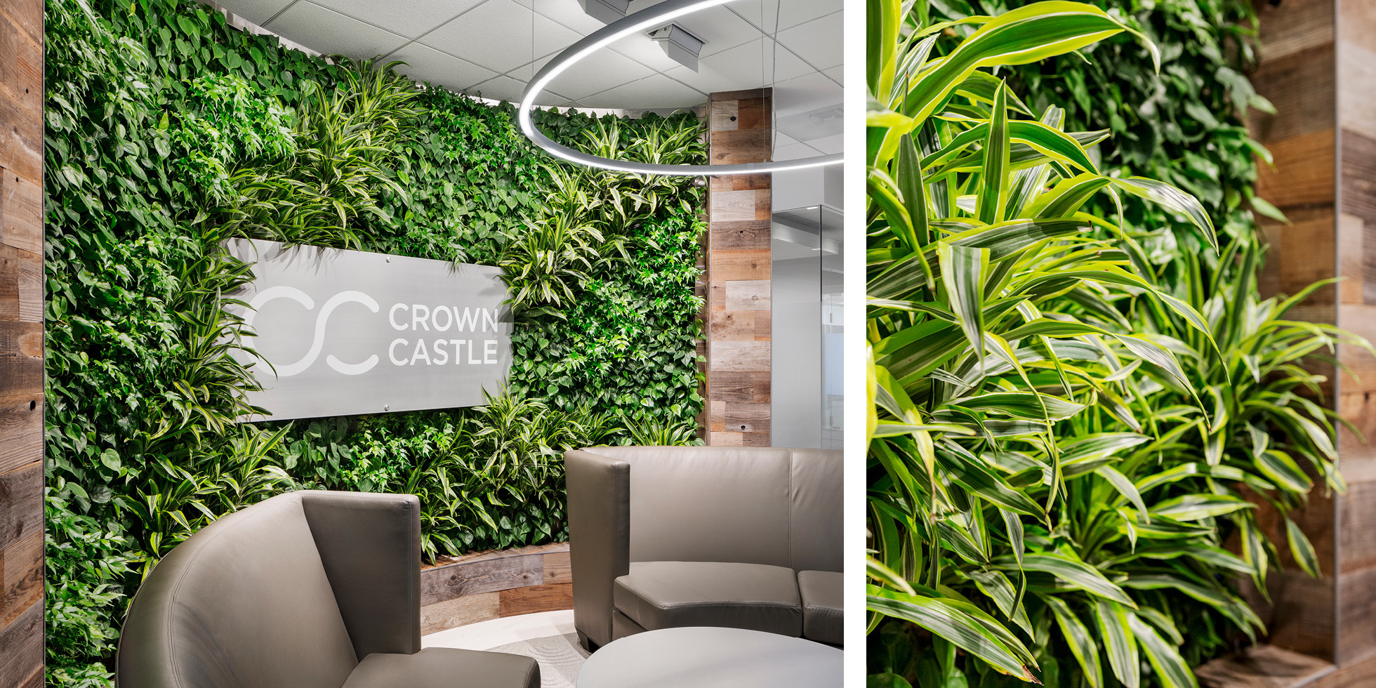 Crown Castle Living Wall by Habitat Horticulture - View 2
