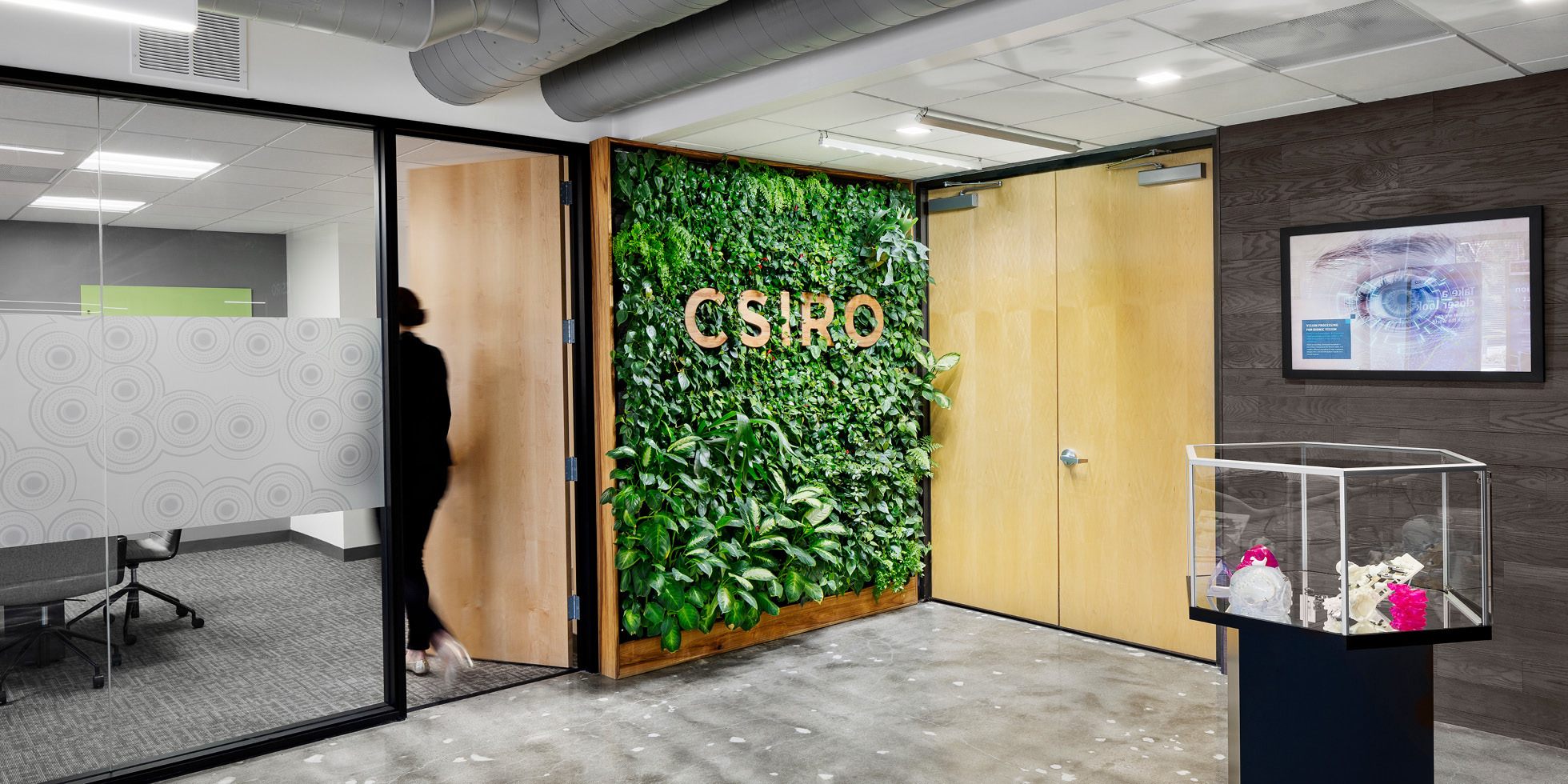 CSIRO Living Wall by Habitat Horticulture - View 1