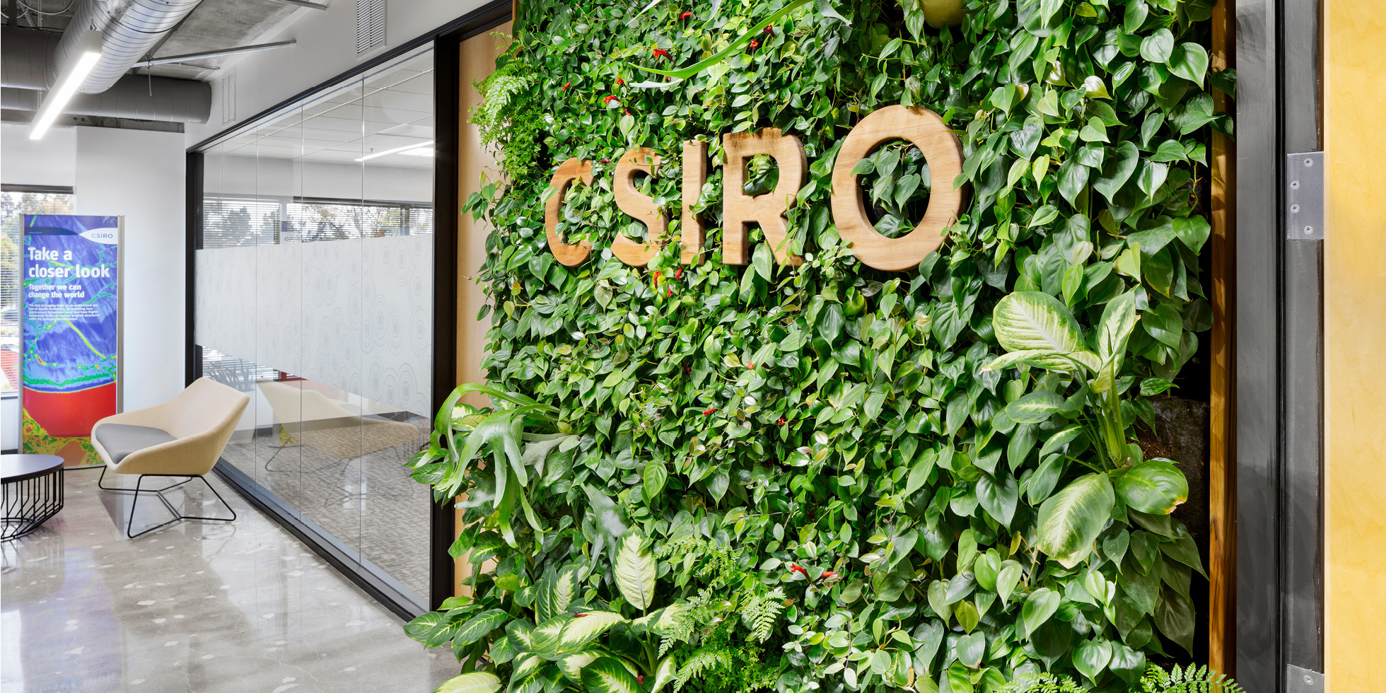 CSIRO Living Wall by Habitat Horticulture - View 3