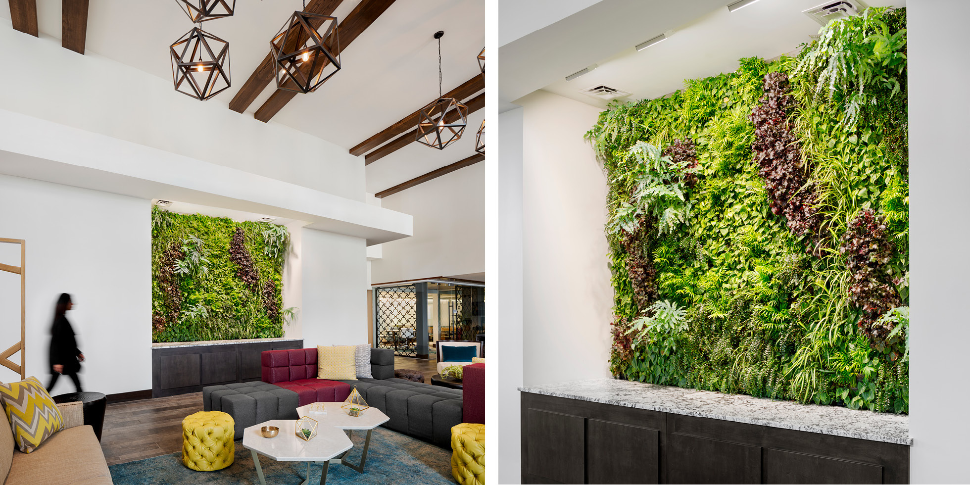 Encasa Living Wall by Habitat Horticulture - View 2