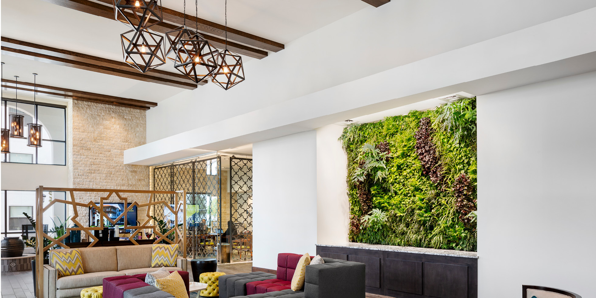 Encasa Living Wall by Habitat Horticulture - View 1