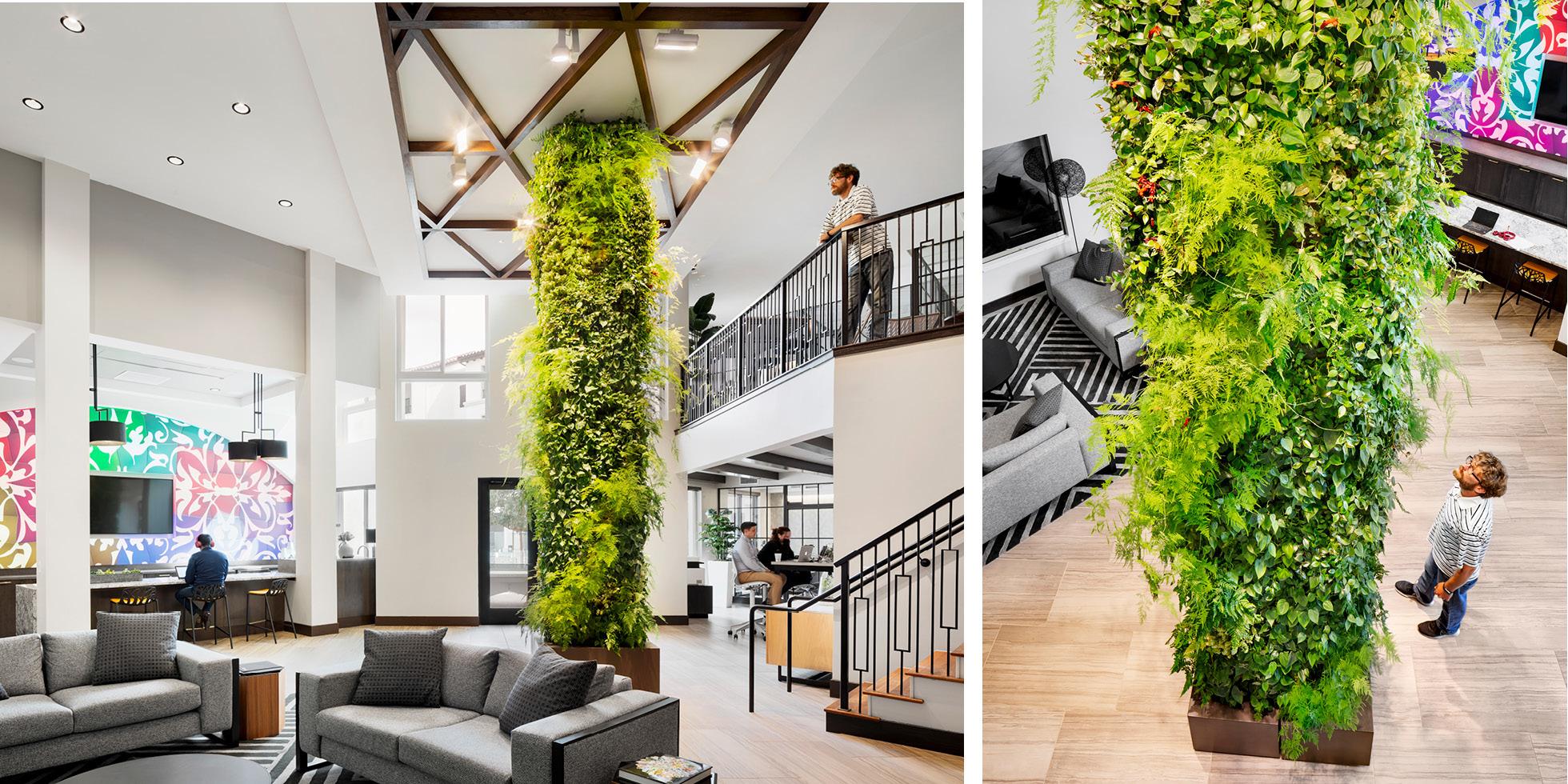 Encasa  Living Wall by Habitat Horticulture - View 1