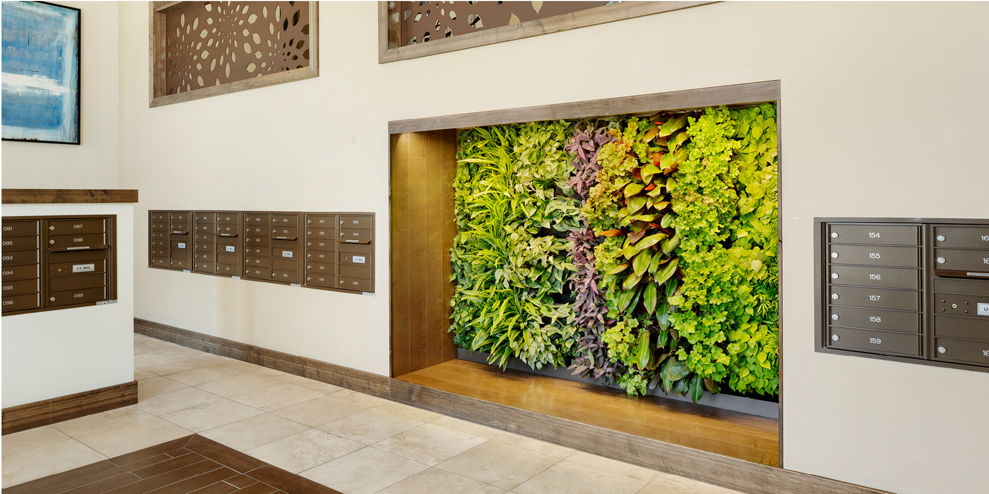 Villas on the Boulevard Living Wall by Habitat Horticulture - View 3