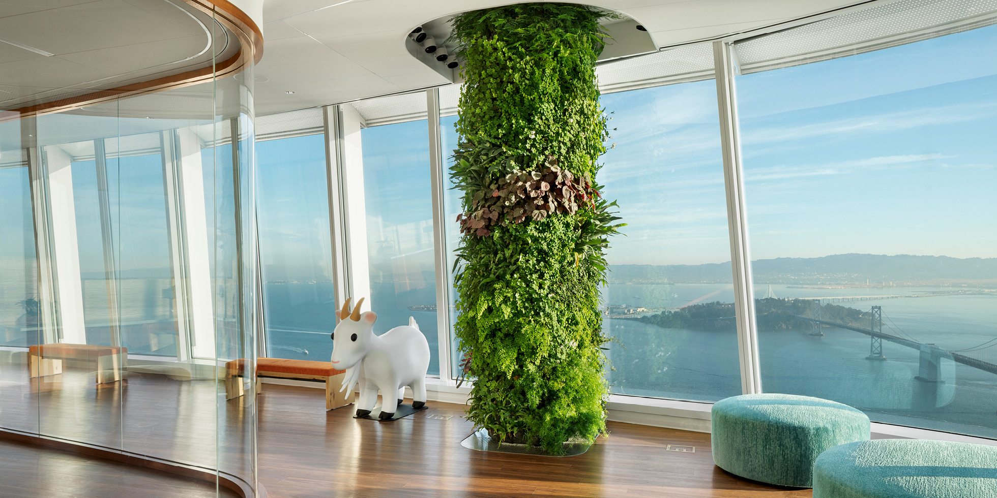 Salesforce Tower  Living Wall by Habitat Horticulture - View 7