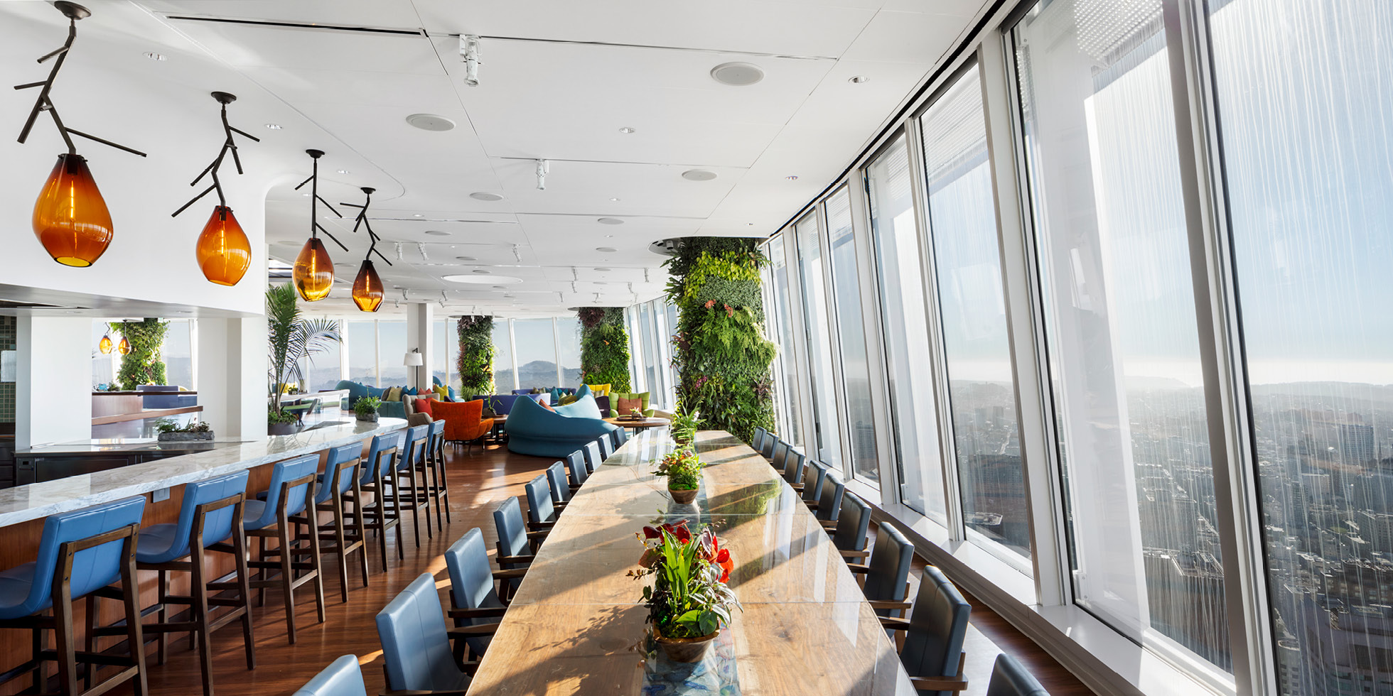 Salesforce Tower  Living Wall by Habitat Horticulture - View 9
