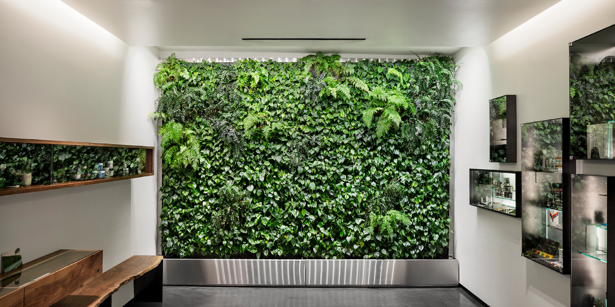 Garden of Eden  Living Wall by Habitat Horticulture - View 1