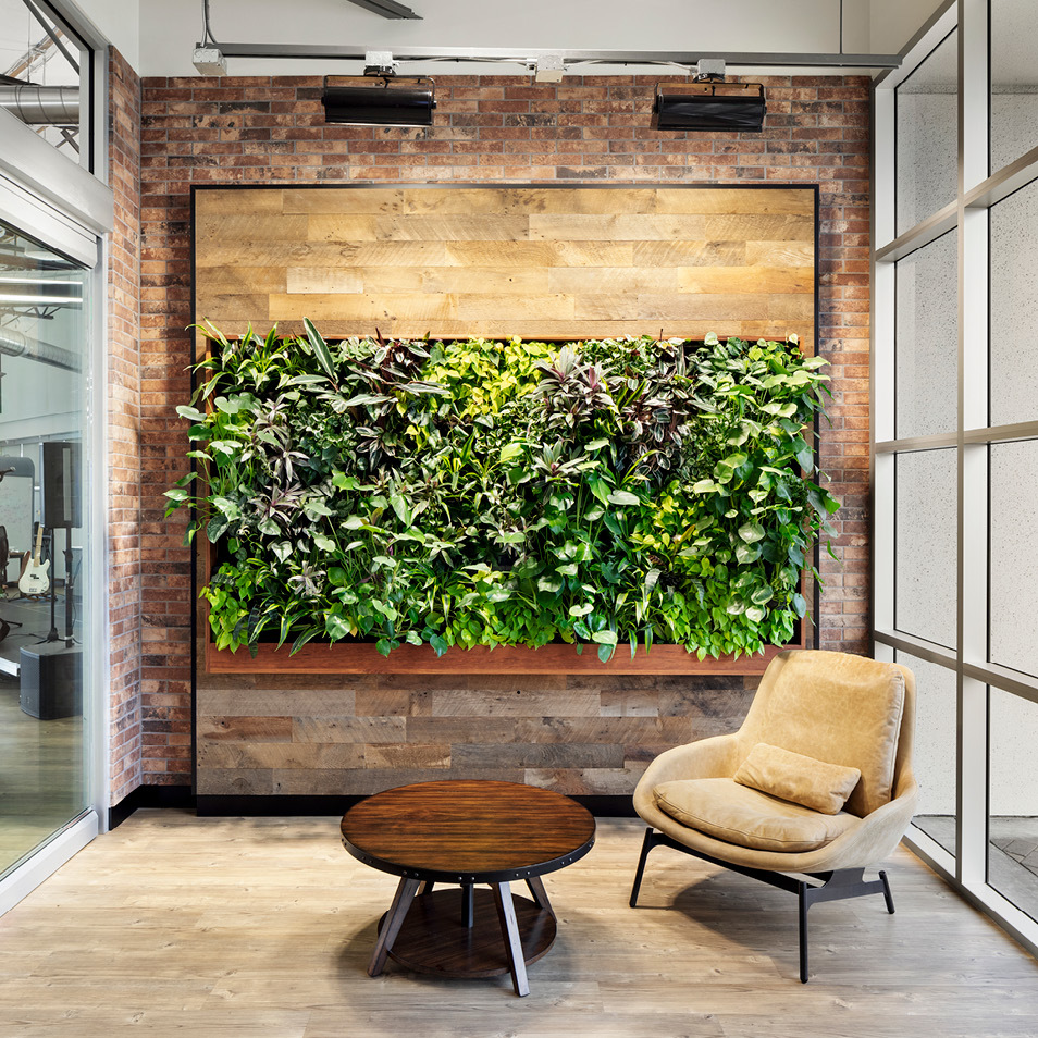 Smiths Group Service Corp Living Wall by Habitat Horticulture - View 6