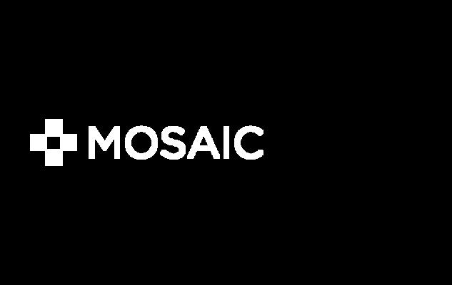 Mosaic solar logo