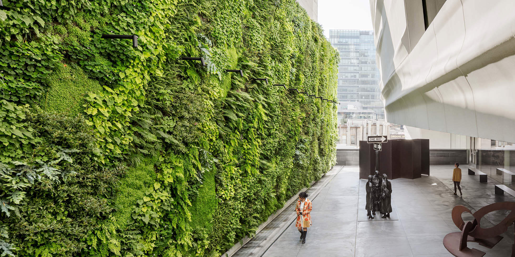 SFMOMA Living Wall by Habitat Horticulture - View 1