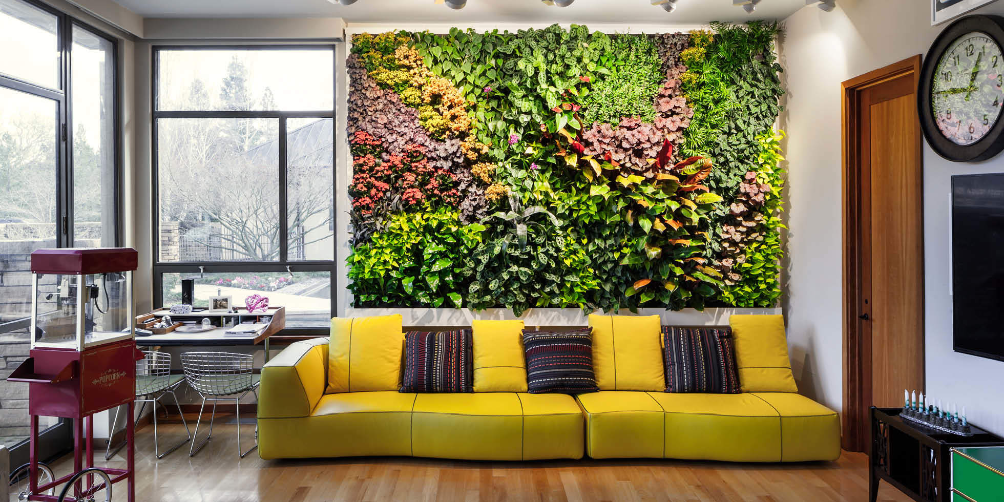 Diller Residence Living Wall by Habitat Horticulture - View 1