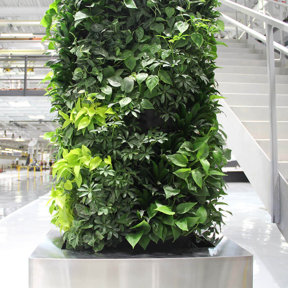 Tesla Factory Living Wall by Habitat Horticulture - View 5