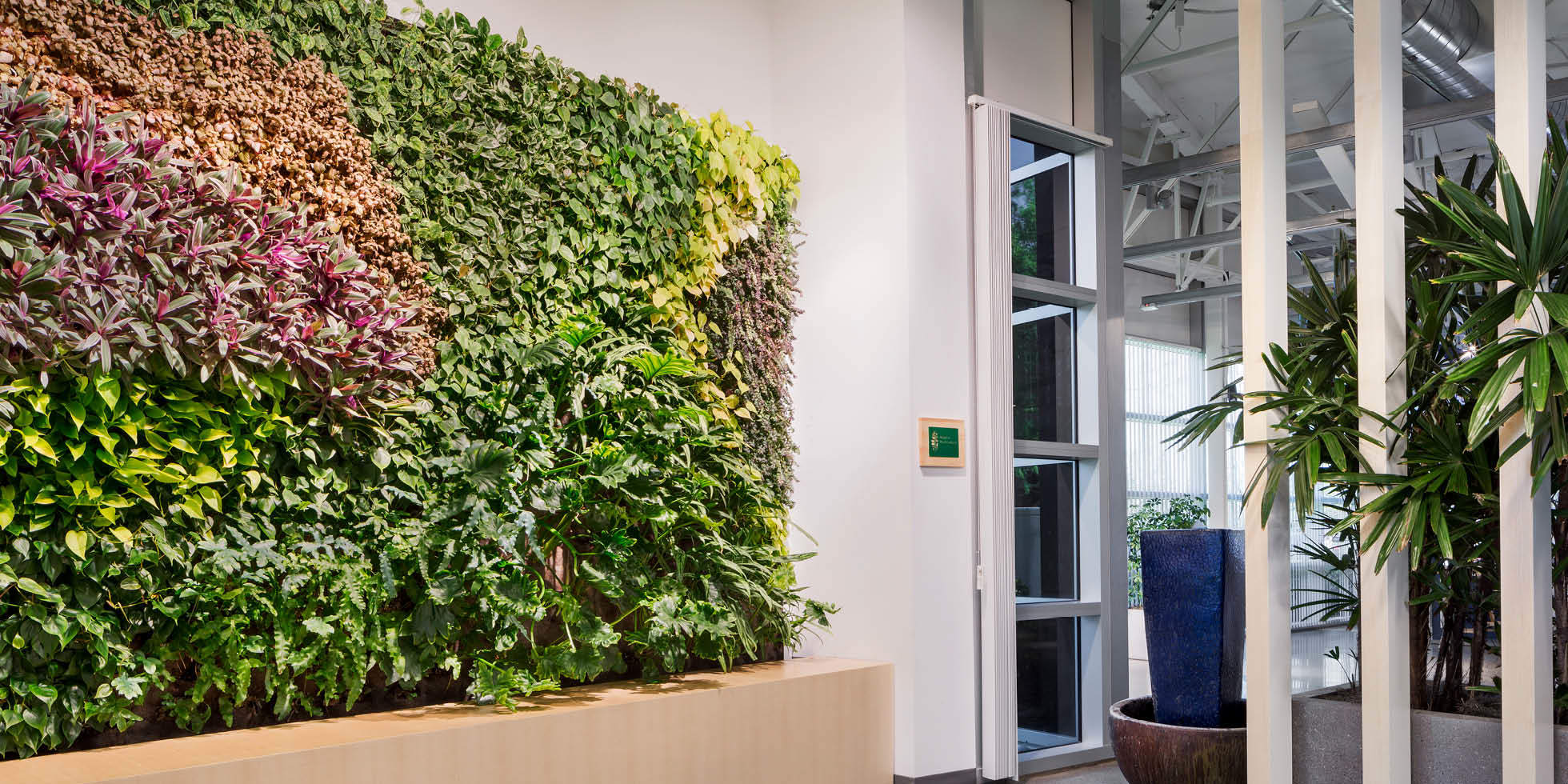 Jabil Living Wall by Habitat Horticulture - View 1