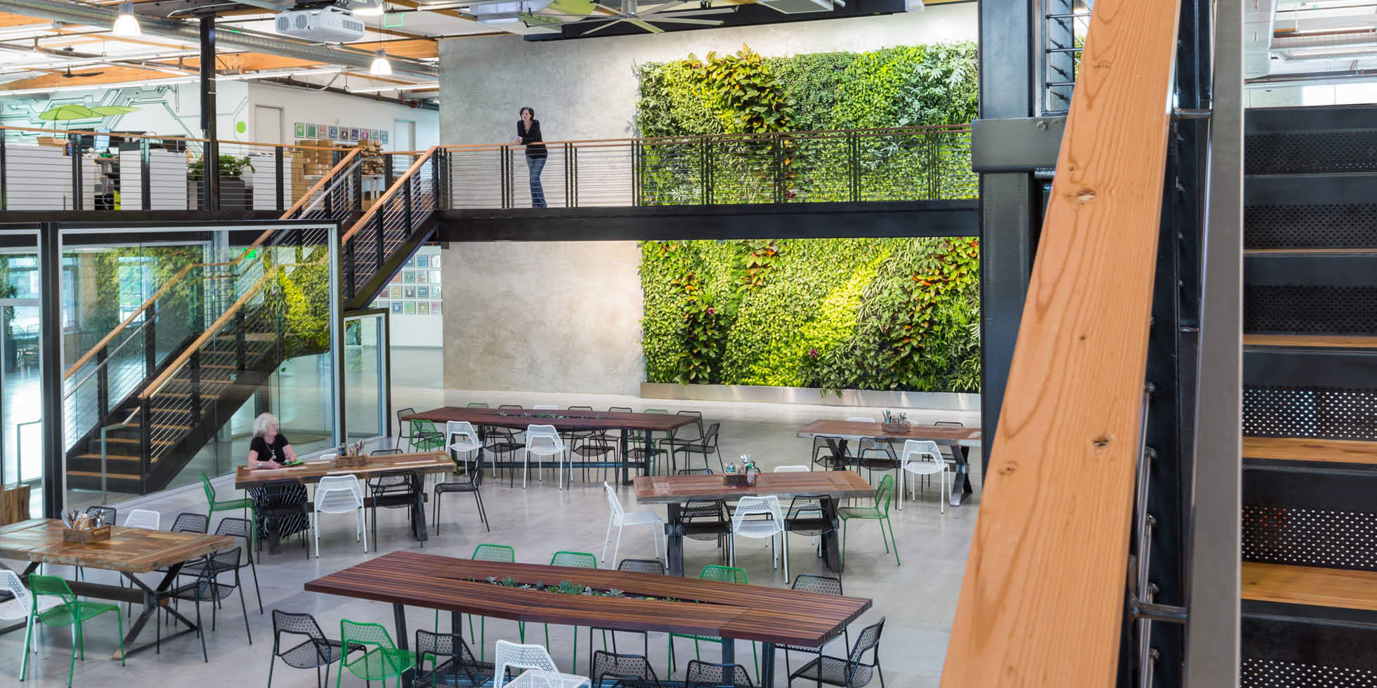 Clover HQ Living Wall by Habitat Horticulture - View 1