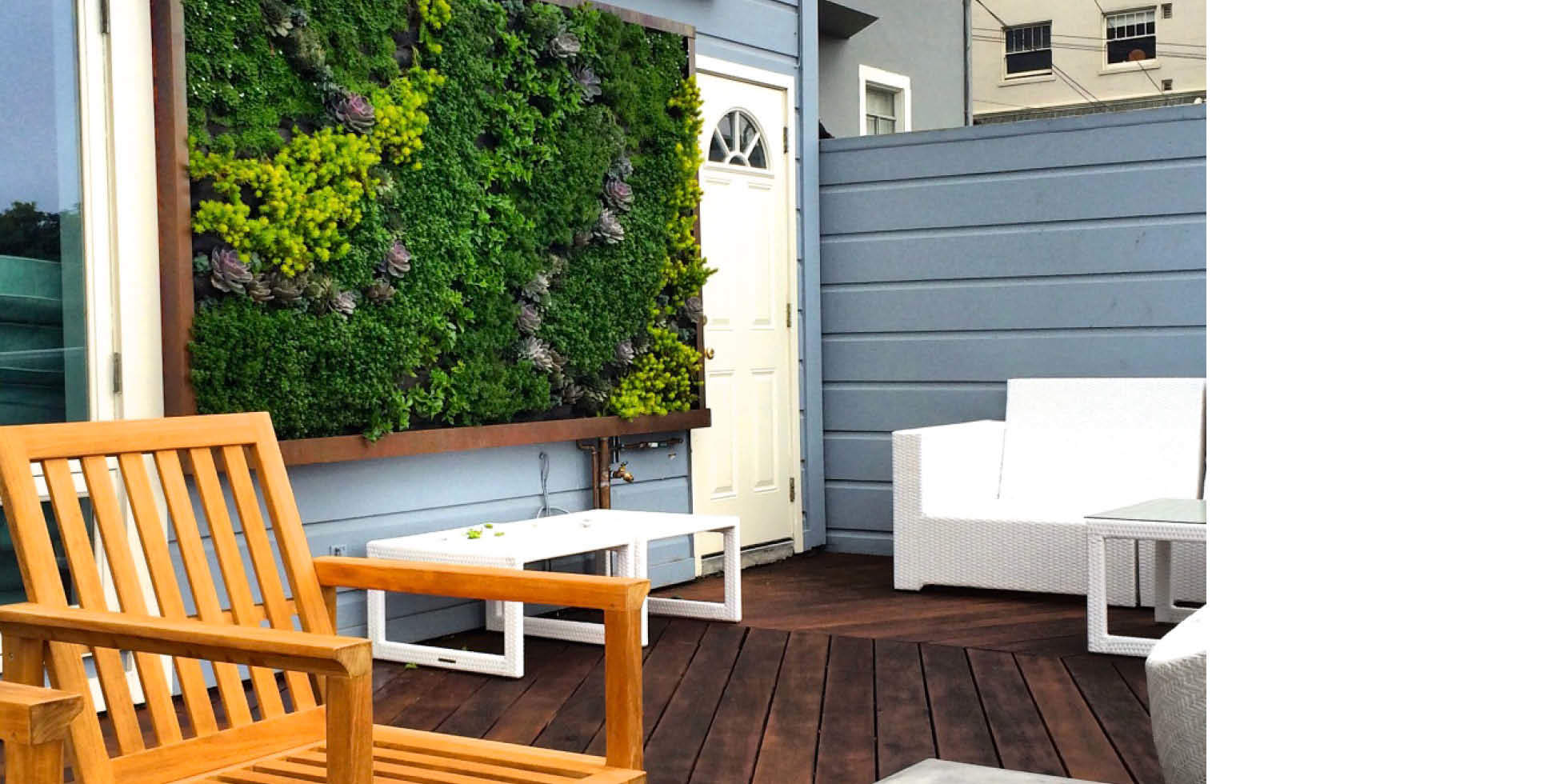 Larkin St. Residence Living Wall by Habitat Horticulture - View 1
