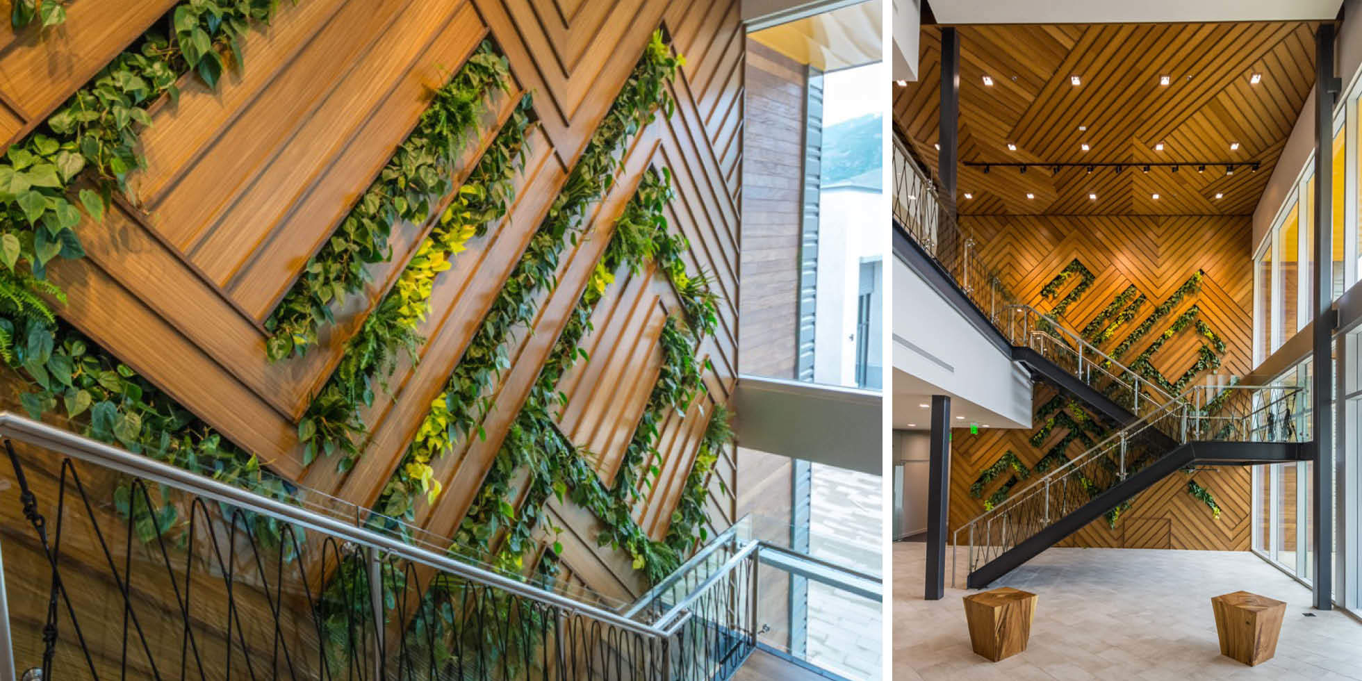 Vista Outdoor Living Wall by Habitat Horticulture - View 2
