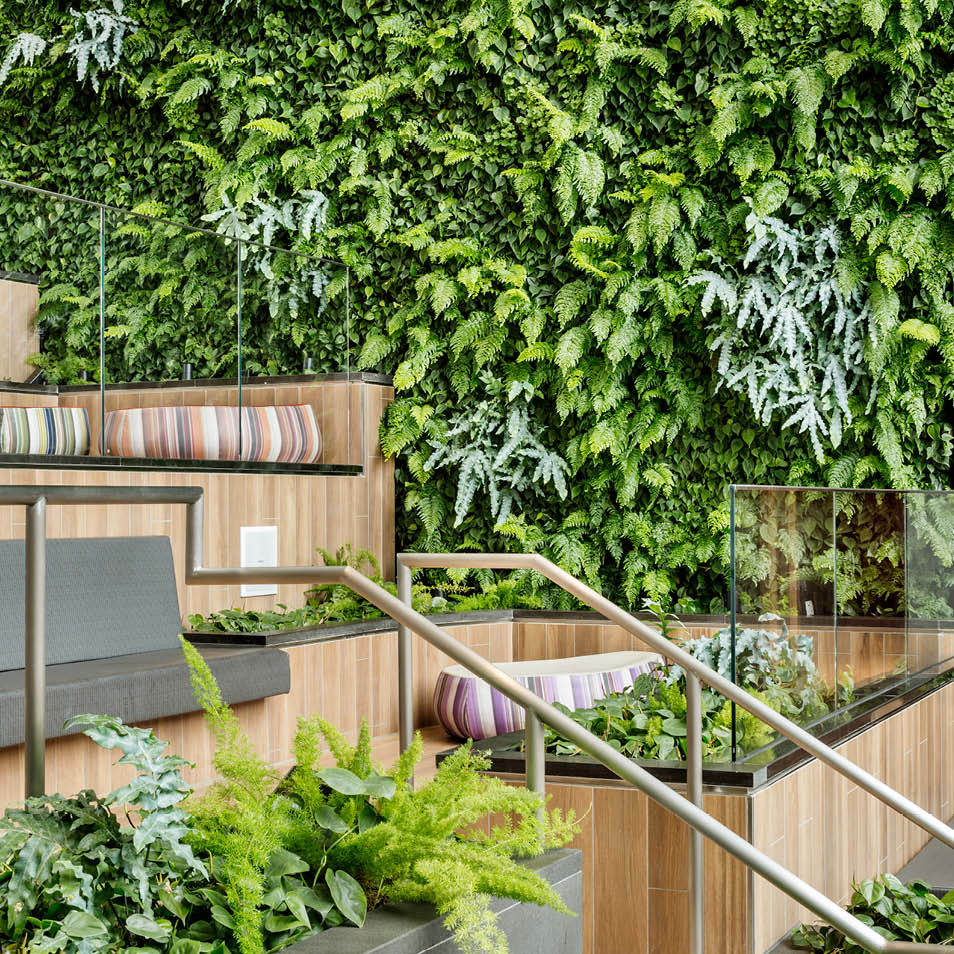 Del Amo Fashion Center Living Wall by Habitat Horticulture - View 2