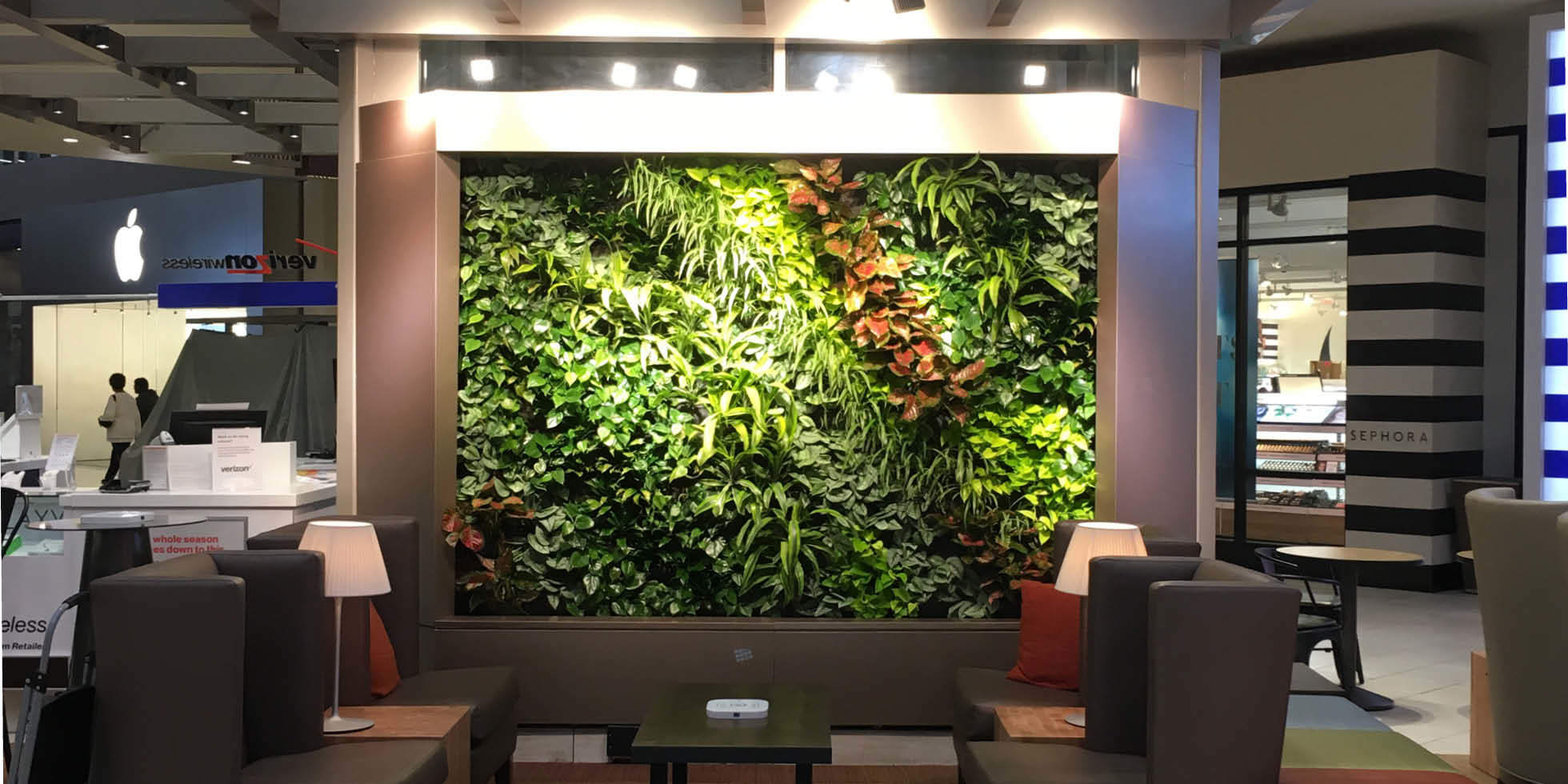 Arrowhead Towne Center Living Wall by Habitat Horticulture - View 2