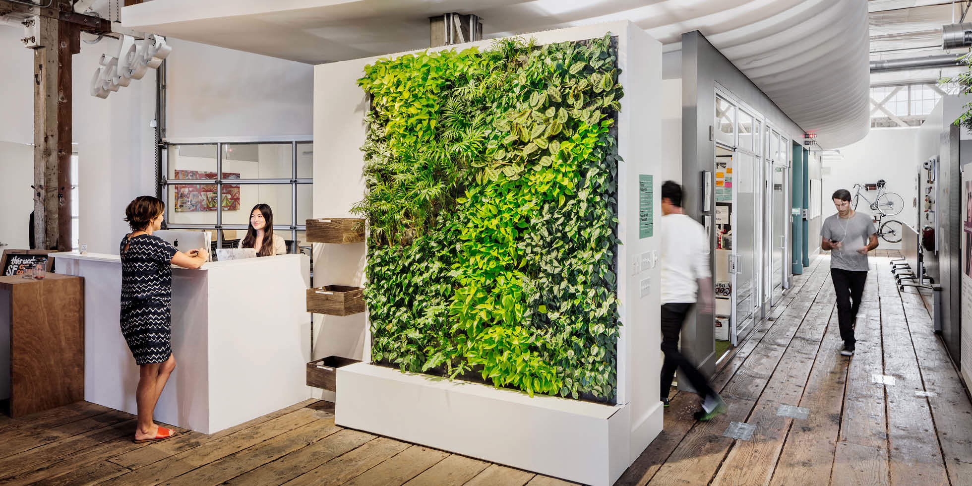 IDEO Living Wall by Habitat Horticulture - View 2