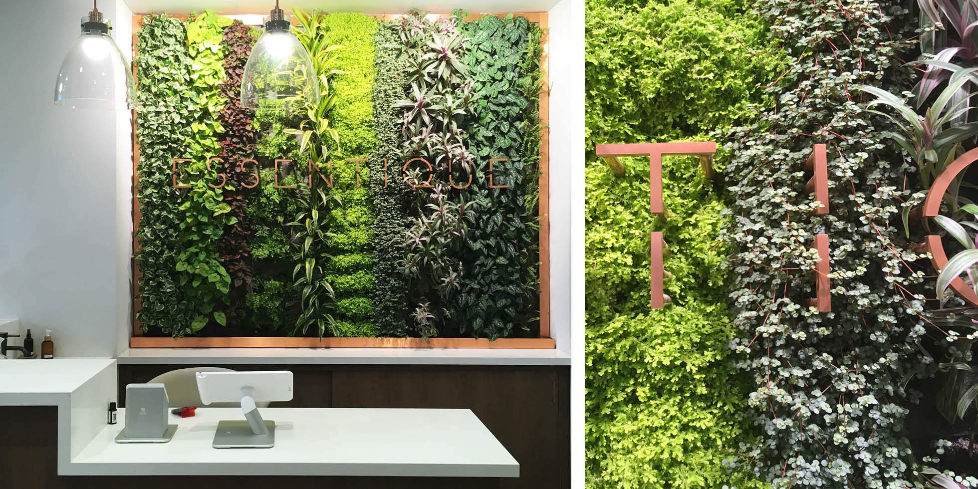 Essentique Living Wall by Habitat Horticulture - View 1