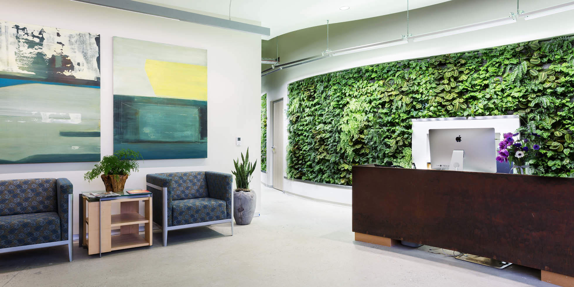 Arch|Nexus Living Wall by Habitat Horticulture - View 1