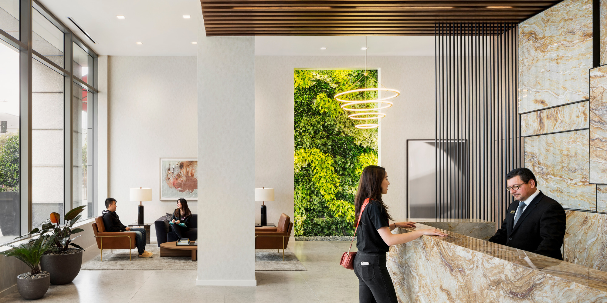 The Paramount Living Wall by Habitat Horticulture - View 1