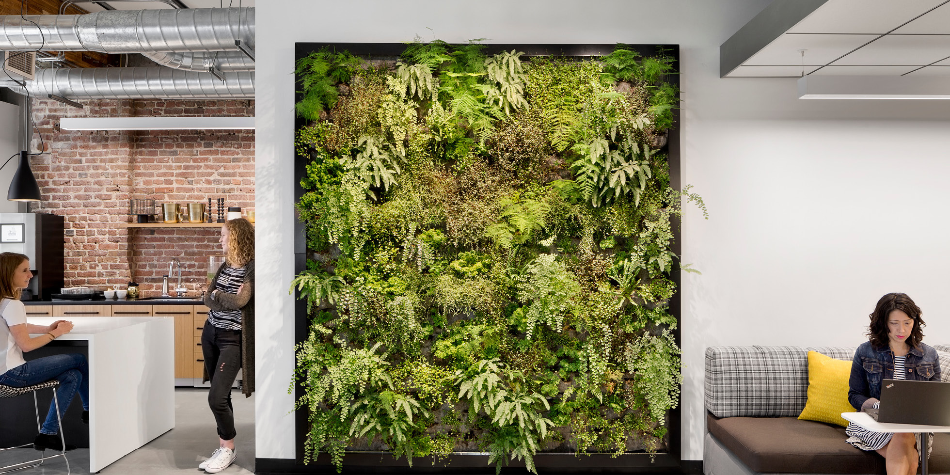 One Workplace Living Wall by Habitat Horticulture - View 1
