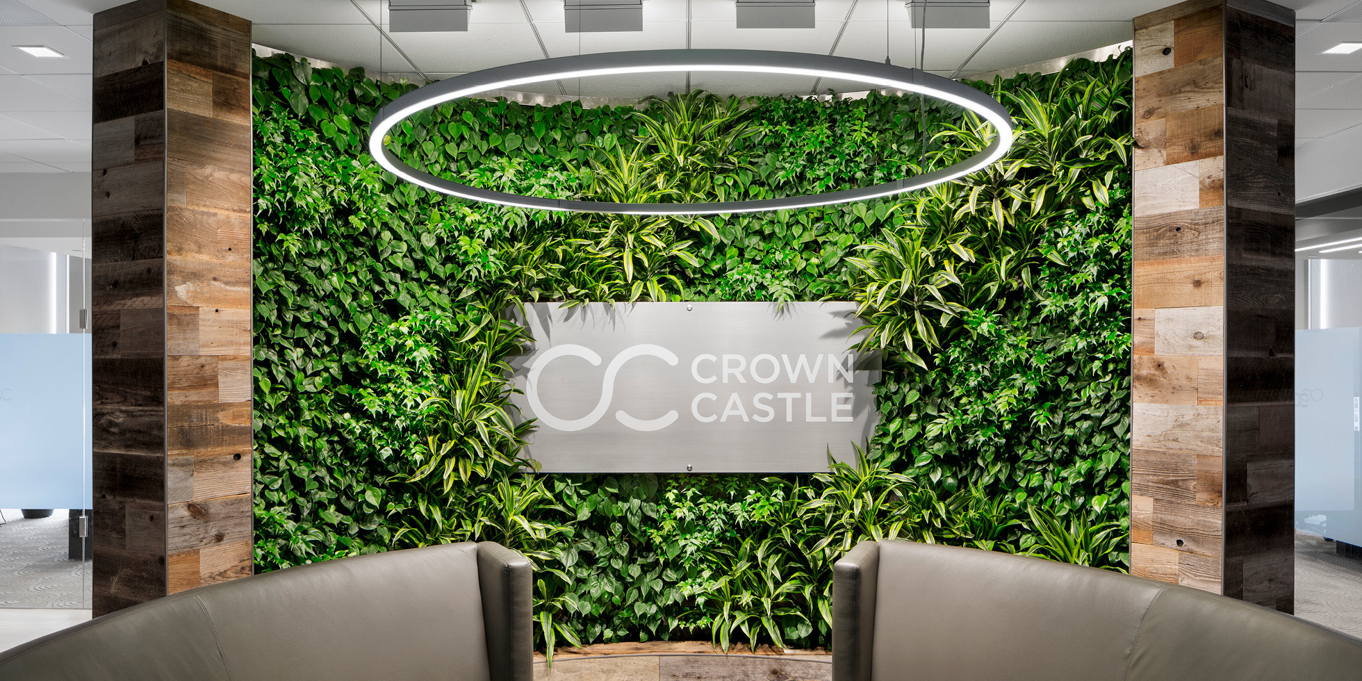 Crown Castle Living Wall by Habitat Horticulture - View 1
