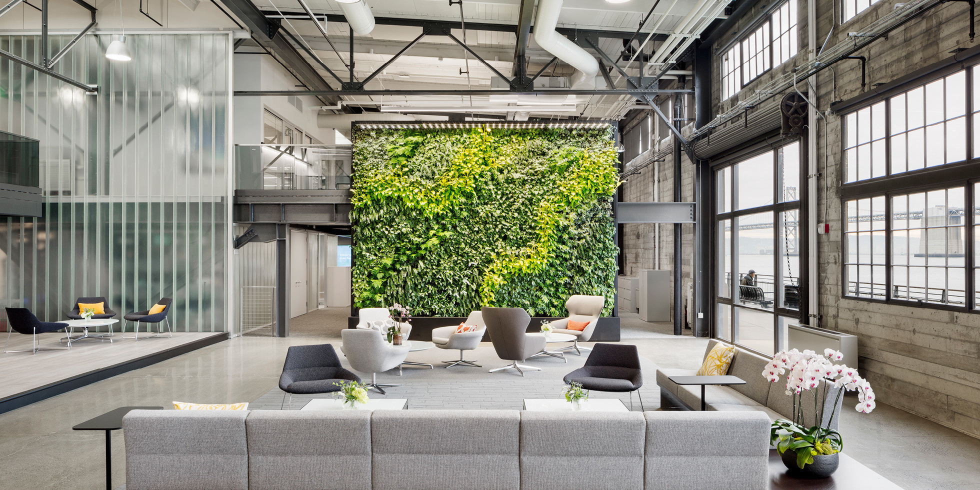 Prologis Living Wall by Habitat Horticulture - View 1