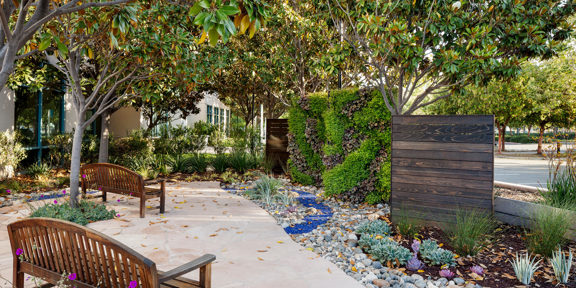 Cisco Reflection Garden Living Wall by Habitat Horticulture - View 1