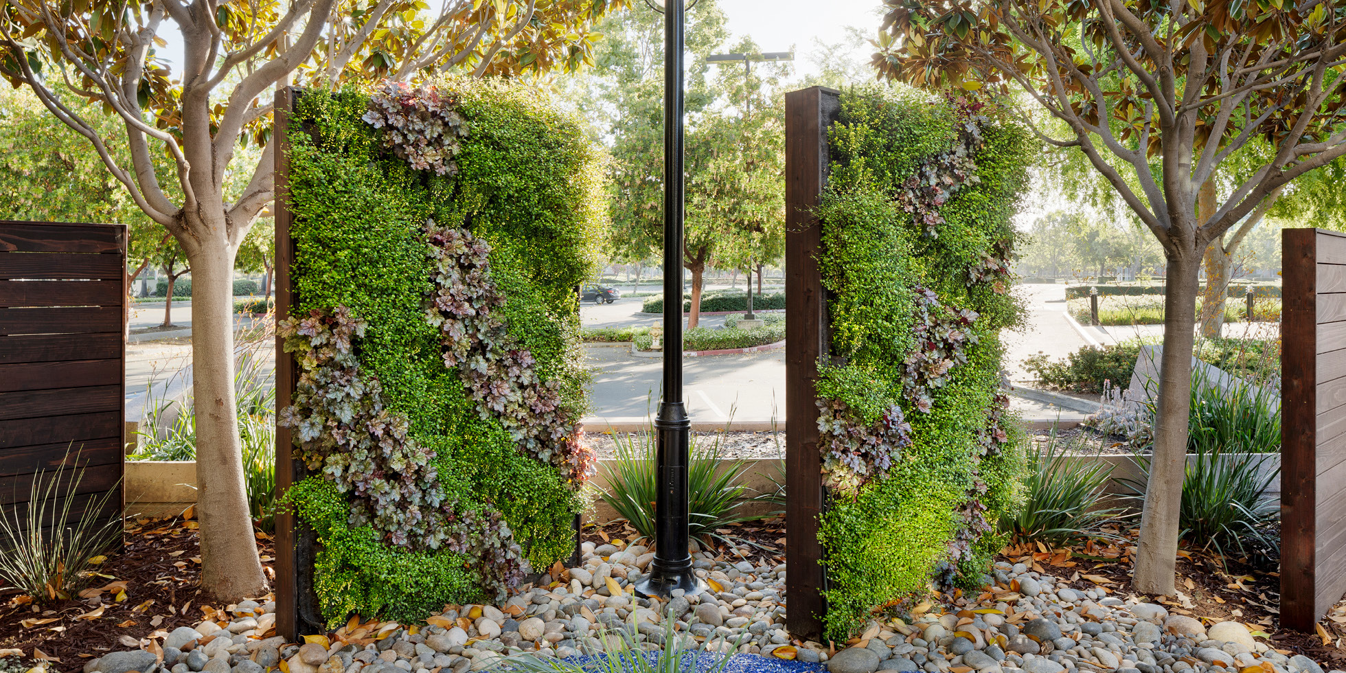 Cisco Reflection Garden Living Wall by Habitat Horticulture - View 2